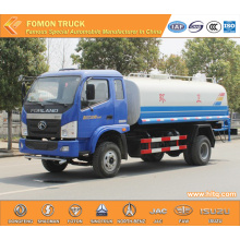 FORLAND 4X2 6cbm potable water tank truck