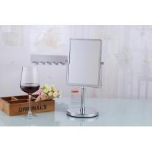 Espelho quadrado cosmético da vaidade ereta livre do tampo da mesa