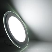 Высокое качество Тайвань MW стекла ультра-тонкий светодиодный встраиваемый потолочный свет панели