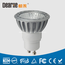 3W LED GU10 mini spotlight,Anti-glare,250lm Aluminum cup,Ra80 2700-6300K