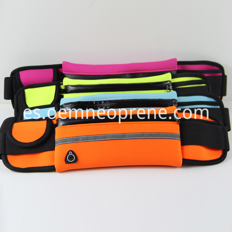 Waterproof running belts