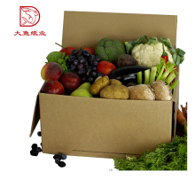 Professional creative OEM corrugated recyclable brown food paper box