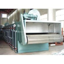 Secador de esteira de malha de matéria-prima de alta umidade