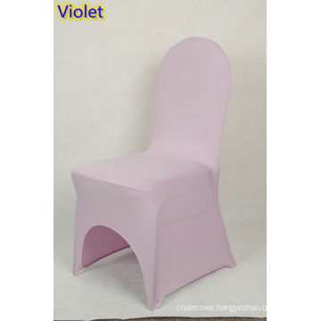 cheap spandex chair covers,lycra chair cover fit all banquet chairs,high quality,violet