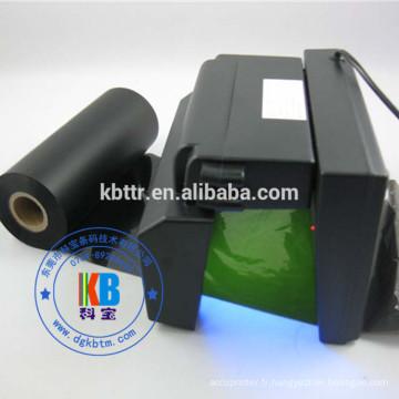 Ruban UV de sécurité pour imprimante zébrée