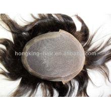 Toupets de cheveux humains bon marché pour les hommes