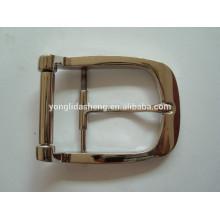 Boucles de ceinture réglables en métal avec broche pour manteau