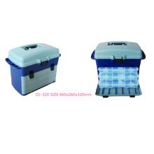 4 Plastic Multifuction Tackel Box
