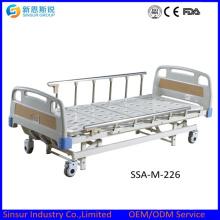 Compre manuais duplo agitar / crank hospital camas médicas