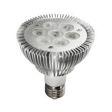 LED de alta potencia PAR30 Spot Light con lámpara de 5W / 7W