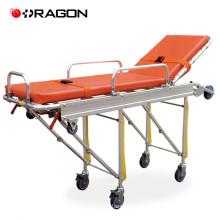 DW-AL004 Aluminum Alloy Adjustable Foldable Ambulance Stretcher for hospital use