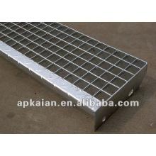 Anping caliente sumergido galvanizado presión de acero soldado rejilla fabricante proveedor