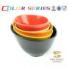 Фантазии керамическая чаша супа черные керамические чаши японский миски лапши