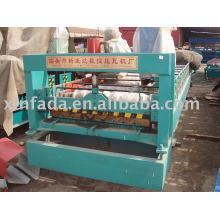 Rodillo de azulejos de doble capa que forma la máquina
