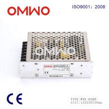 Fuente de alimentación de 65 vatios 65 ° modo de fuente de alimentación de interruptor electrónico de salida dual