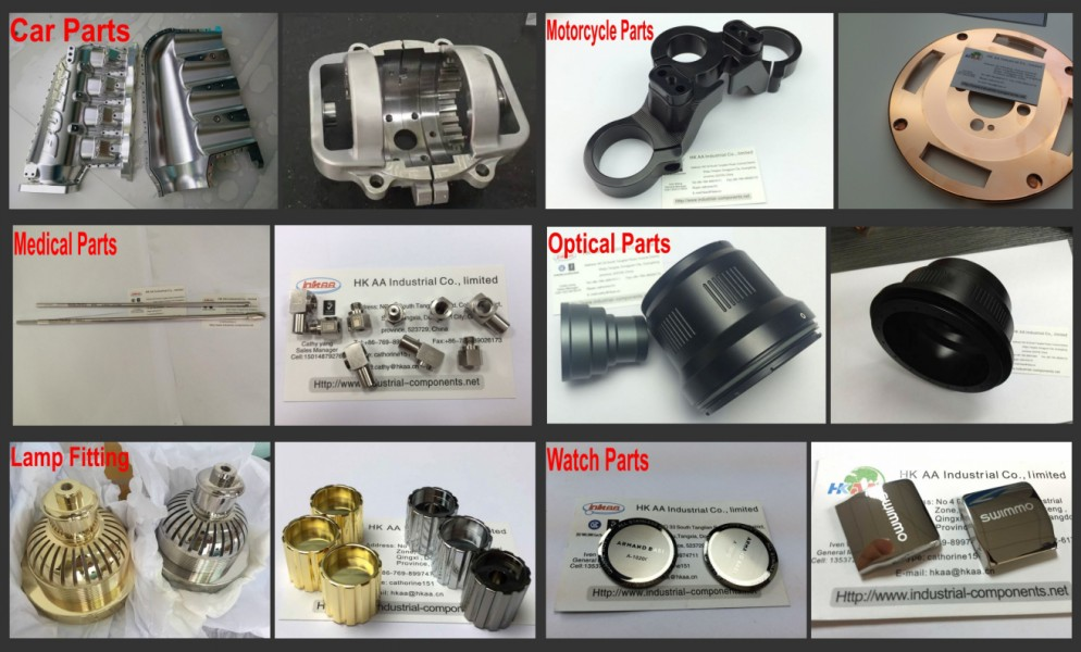 5-axis Machining Center Parts