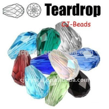 glass hanging teardrops