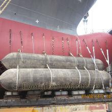Airbag marino de alta calidad para el lanzamiento de embarcaciones
