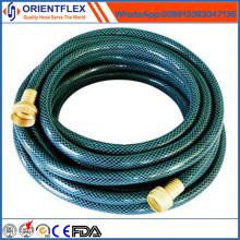 Beste Qualität Bunte PVC geflochtene verstärkte flexible Gartenschlauch