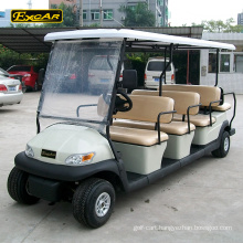 Custom 11 seater cheap electric golf cart for sale sightseeing car electric bus