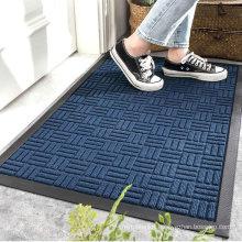 Hot Sale Non Slip Dust Control Absorbent Entrance Door Rubber Floor Mat Carpet
