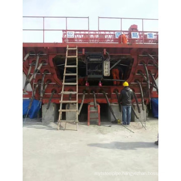 Main Features of Box Girder Steel Formwork
