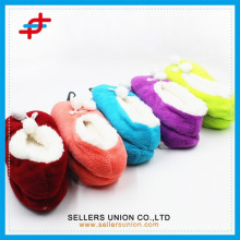 Lady girl soft slippers home indoor dance shoes soft sole ballet shoes slippers