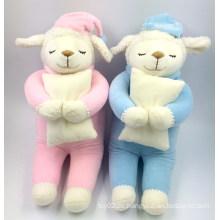 Qualität süßeste Großhandel schöne weiche Plüsch Spielzeug Schaf Baby Plüschtiere Fabrik gemacht