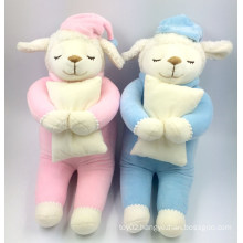 high quality cutest wholesale lovely soft plush toys sheep baby plush toys factory made