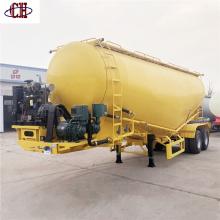 Remolque de tanque de cemento a granel de 2 ejes
