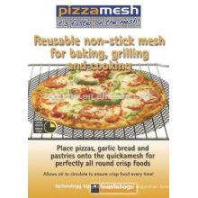 PTFE Malla de pizza antiadherente negro