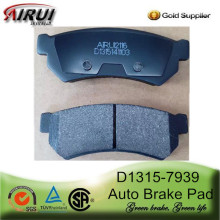High Quality Auto Brake Pads D1315-7939 for Buick Daewoo Suzuki Chevrolet