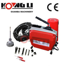 D150 kitchen drain pipe cleaner machine with CE
