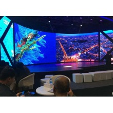 Low Power Consumption Indoor Curved LED Display