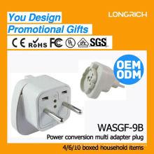 Hight productos de calidad usb socket de pared americano, ce rohs aprobado multi-función de las tomas