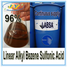 Bestes Preis-Reinigungsmittel-Rohstoff-Verkauf lineare Alkyl-Benzol-Sulfonsäure 96% - LABSA 96%