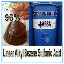 Mejor precio Detergente de venta de materia prima Lineal Alkyl Benzene Sulfonic Acid 96% - LABSA 96%