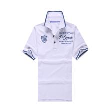 100% хлопок белый Golf Pique рубашка поло