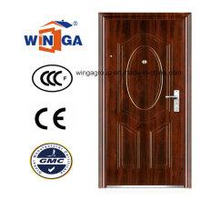 Porte de sécurité en acier acier acier Heatransfer (WS-125)