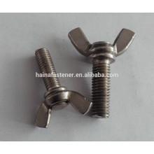 Parafuso de asa de aço inoxidável DIN316, parafusos de asa borboletaM4, M6, M8, M24