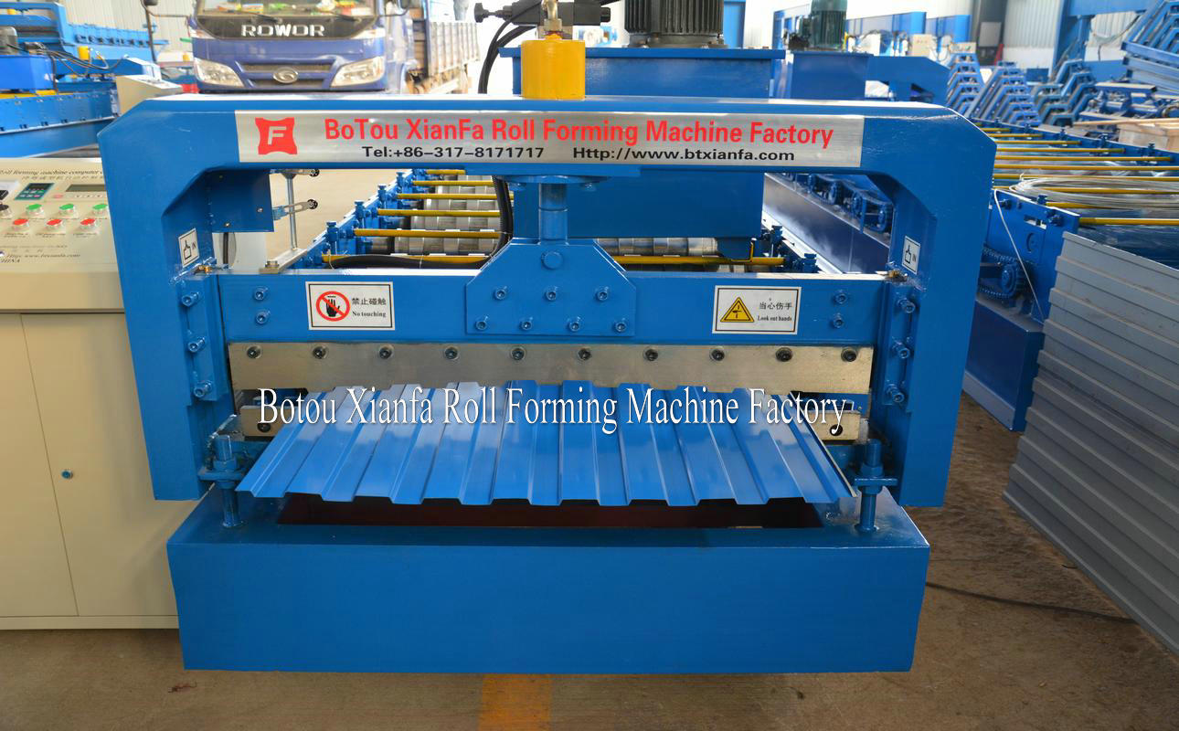 rolling shutter door machines