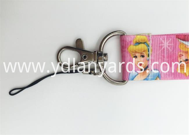 Carton Dye Sublimation lanyards details