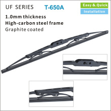 FT650A 2017 Super Plus Nova Marca Irã Iraque 405 207 Borracha Natural Refil Windshield Exclusive Speed ​​Frame Pipe Wiper Blades