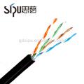 СИПУ 1000 футов водонепроницаемый кат 5е цена за метр открытый UTP кабель cat5e LAN кабель