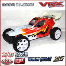 1/5 gas Powered RTR Buggy para la venta, 2WD gasolina Buggy en diseño único