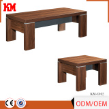 new fresh texture hot sale melamine tea table