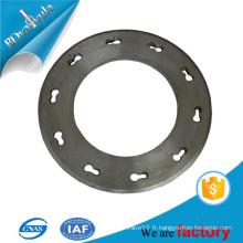 Plaque d'extrémité à pile filée plaque d'acier au carbone 400mm-600mm