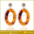Designer inspiriert Ohrringe Trendy Tanishq Ohrringe Preis Drop Donut UV Acryl Ohrringe für Frau Schmuck