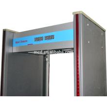 détecteur de métaux 6 zones pour portes en arcade résistant aux intempéries MCD-300