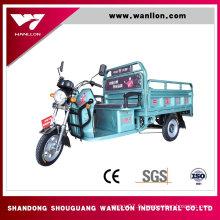 Fabricant de tricycle électrique de cargaison de camion 650W en Chine
